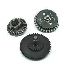 100:200 Helical Steel Gear Set Ares