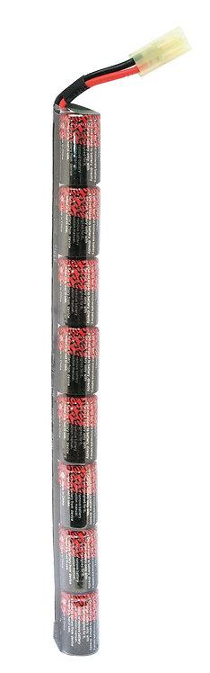 Batterie bâton, 9,6 volts 1 500 mah