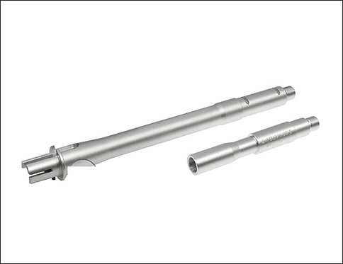 M4 Aluminium Outer Barrel Silver Pirate Arms