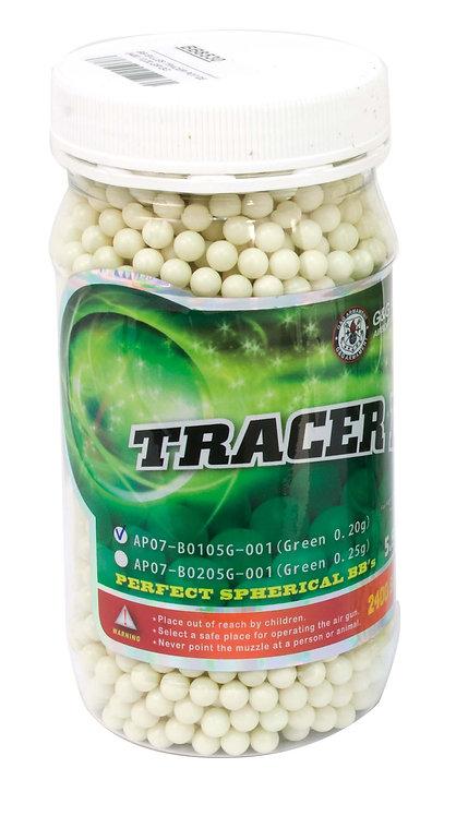 Billes 06 mm 0,25 GR TRACER / FLUO