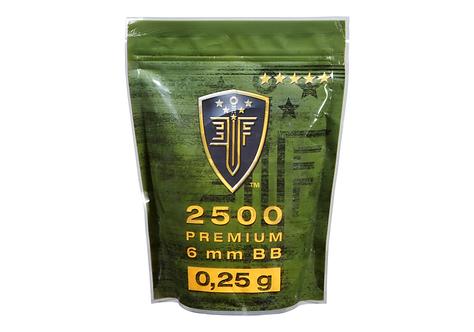 0.25g Premium Selection 2500rds (Elite Force)