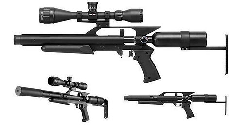 GUNPOWER AIR RIFLE XS cal 5,0