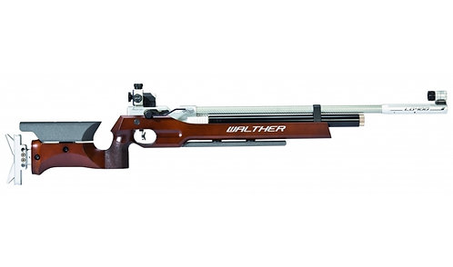 LG400 with wooden stock for free-rifle competition