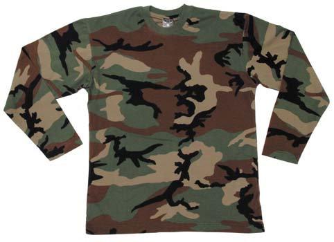 T-shirt Manche longue Woodland