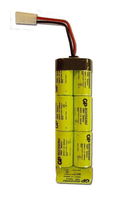 Batterie large, 8,4 volts 3 000 mah
