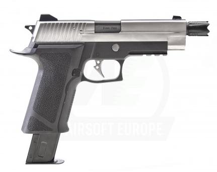 F226 P VIRUS BLACK/SILVER PISTOL
