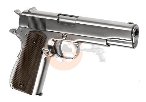 M1911 Full Metal Silver GBB