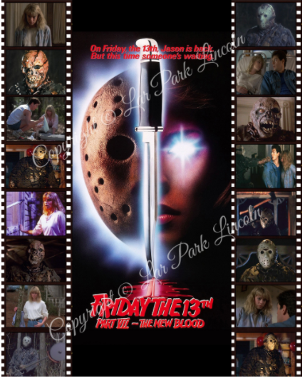 Friday the 13th Part 7 Collage B (AUTOGRAPHED)