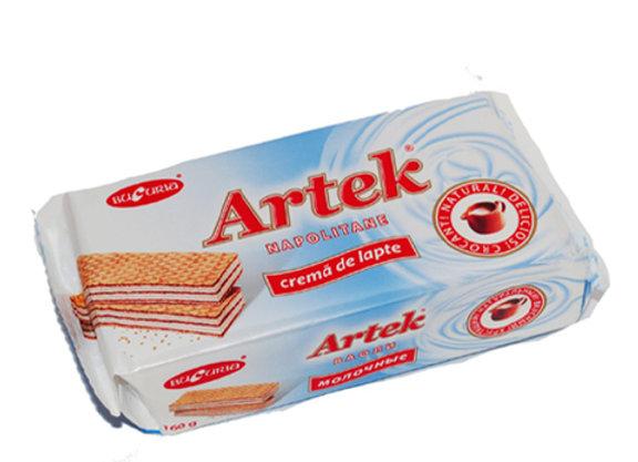 Вафли Артек Молоко (160 грамм)