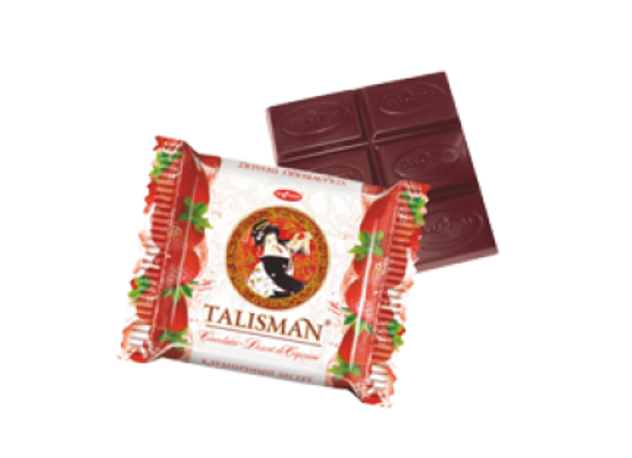 Шоколад Талисман Клубника (50 грамм)