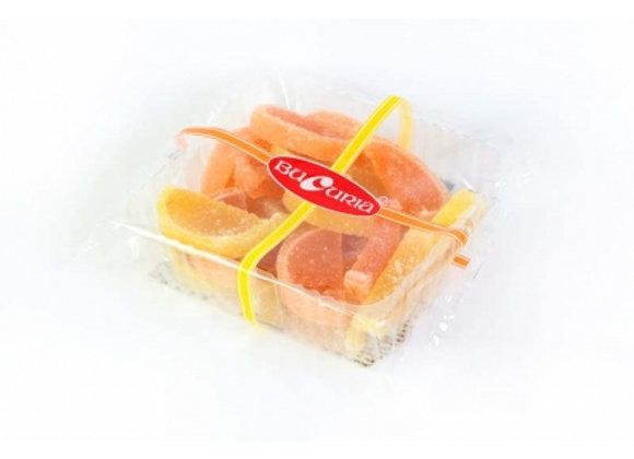 Лимонно-апельсиновые дольки (250 грамм)
