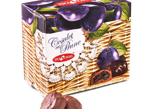 Корзинка с черносливом в шоколаде (200 грамм)