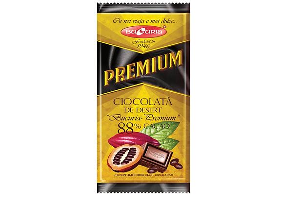 Шоколад Букурия премиум 88% какао (90 грамм)