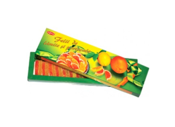 Лимонно-апельсиновые дольки (350 грамм)