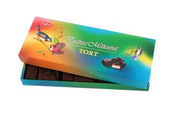 Торт птичье молоко в коробке (350 грамм)