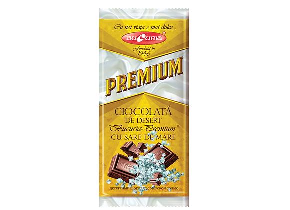 Шоколад Букурия премиум с морской солью (90 грамм)