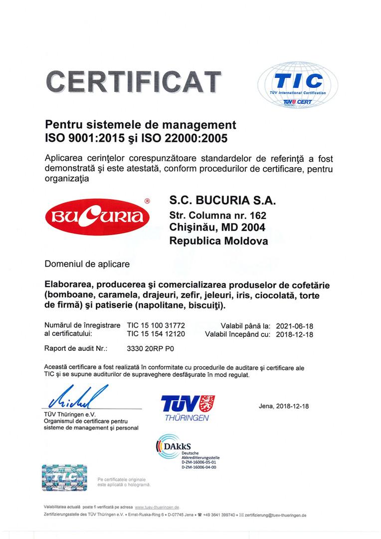 Certificate ISO 9001 si ISO  22000.jpg