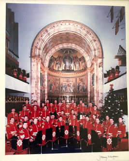 Coldstream Guards Band in the Guards Chapel