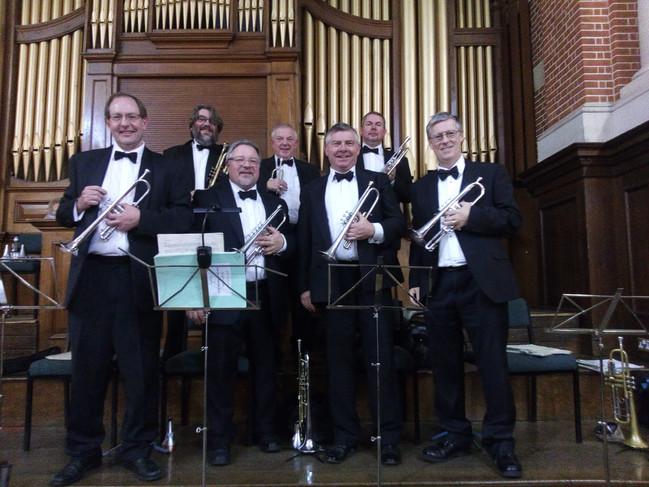 Brass section for Shostakovich Symphony no 7