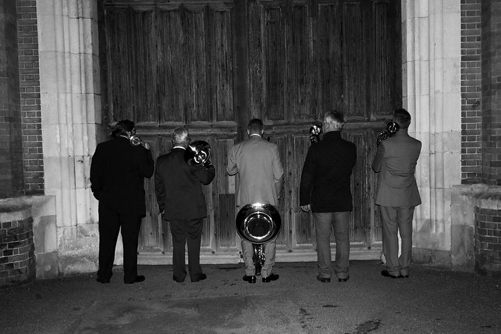 Mark Cox with London Heritage Brass at Hampton Court Palace