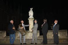 London Heritage Brass @ Hampton Court Palace - new ensemble member!