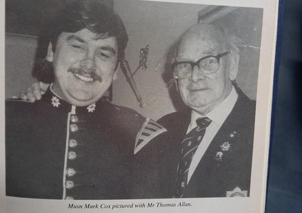 Taken from the Royal British Legion Magazine whilst in the Coldstream Guards