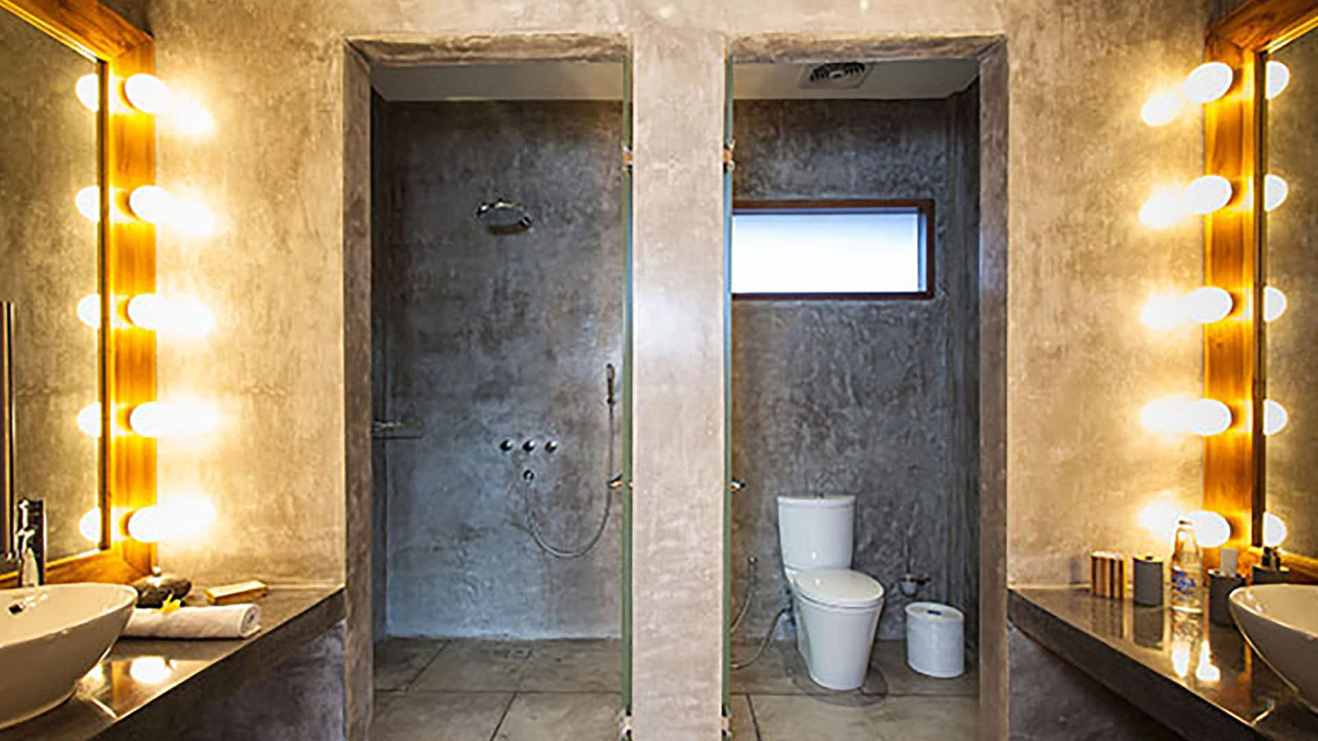 AB VILLAS - Shower + toilet
