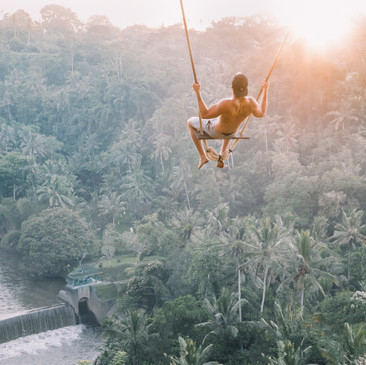 Bali Cliff Swing
