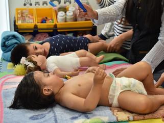 Taller masaje infantil