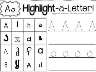 Identificando letras