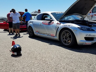 Hot Weather Tests Drivers at Autocross #5