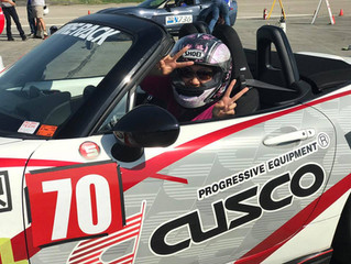 Participants Battle Cold Weather and Wind at Autocross #2