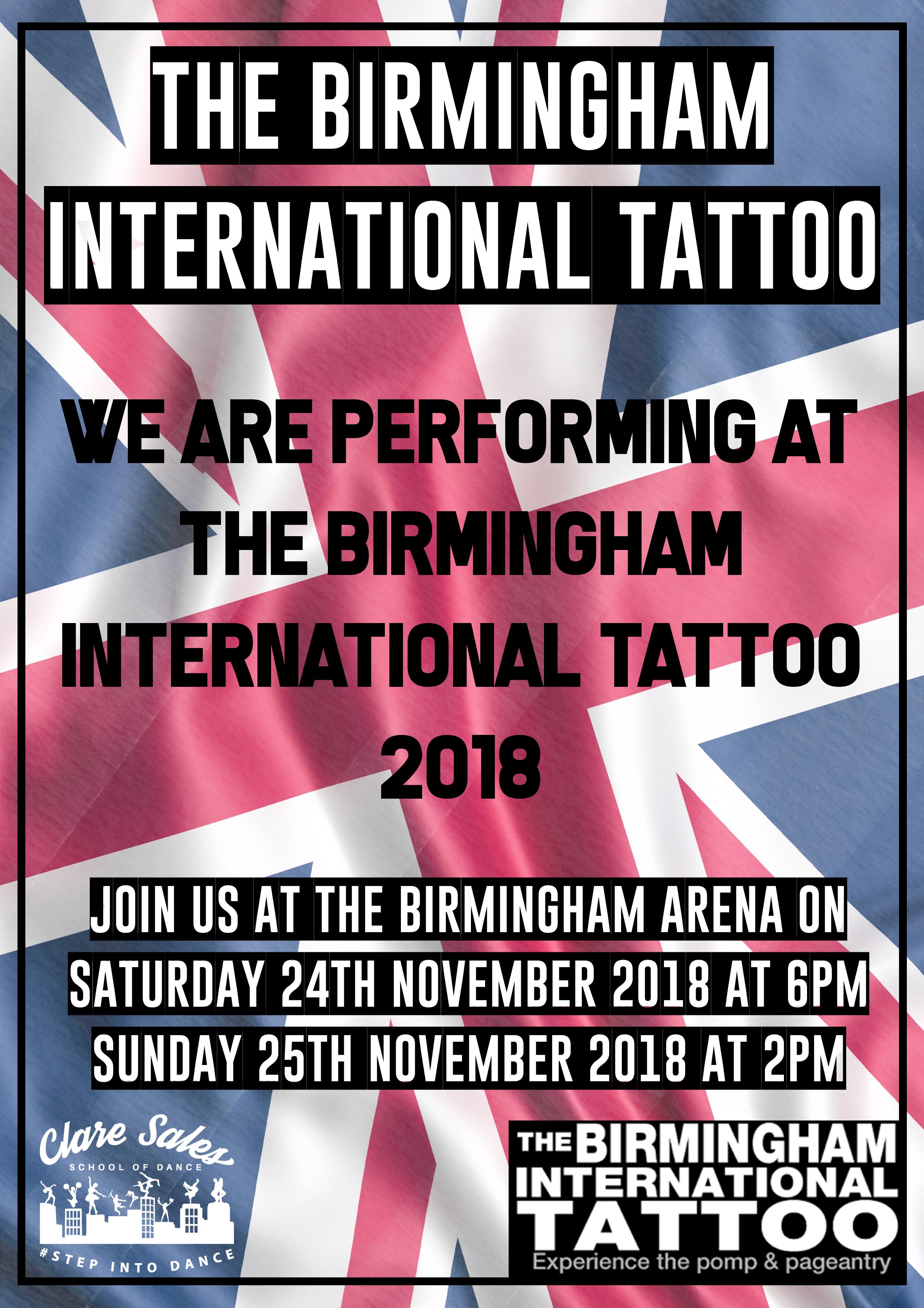 Birmingham Tattoo 2018