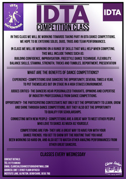 IDTA Competition Class