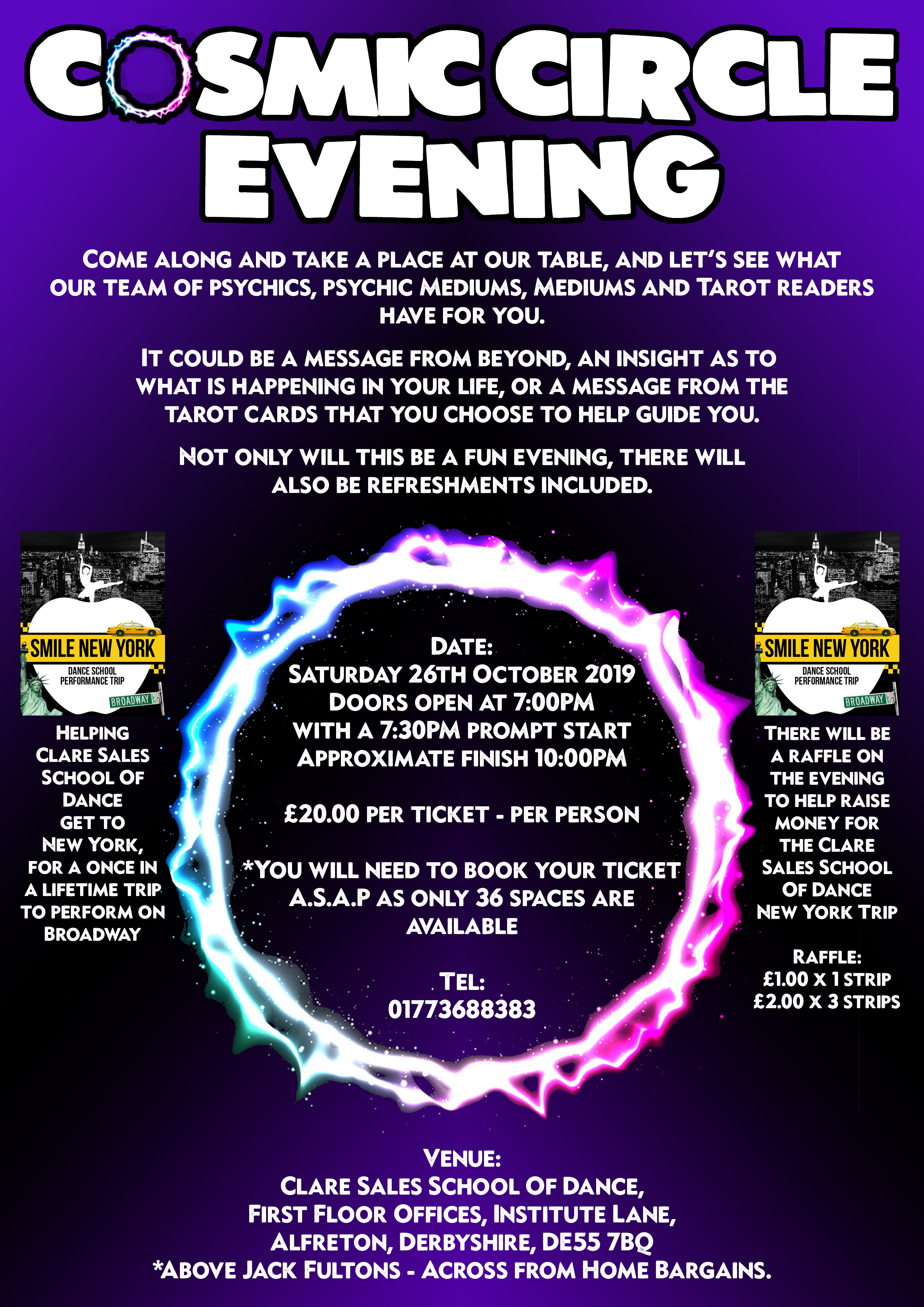 Cosmic Circle Evening