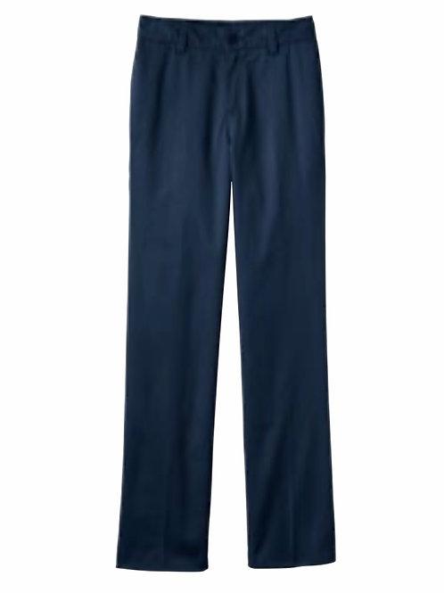 Tailored Fit Blend Plain Front Pant