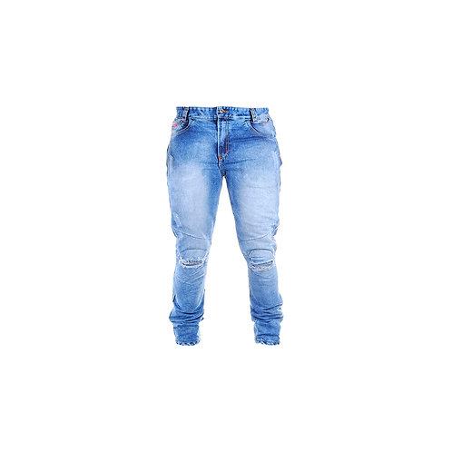 Jean Clásico Con Antifricción en la parte posterior