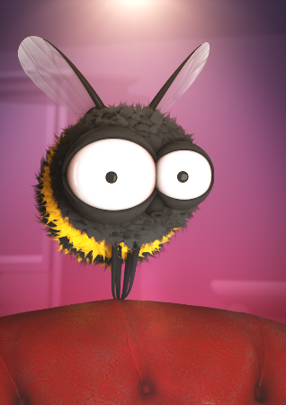 The Storyhive introduces Buzz the Bee!
