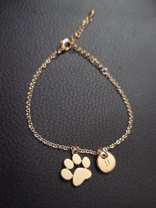 Bracelet Mimine Or Personnalisé