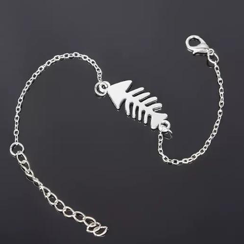 Bracelet Poisson Argent