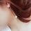 Thumbnail: Boucles d'oreilles pendantes Papillons