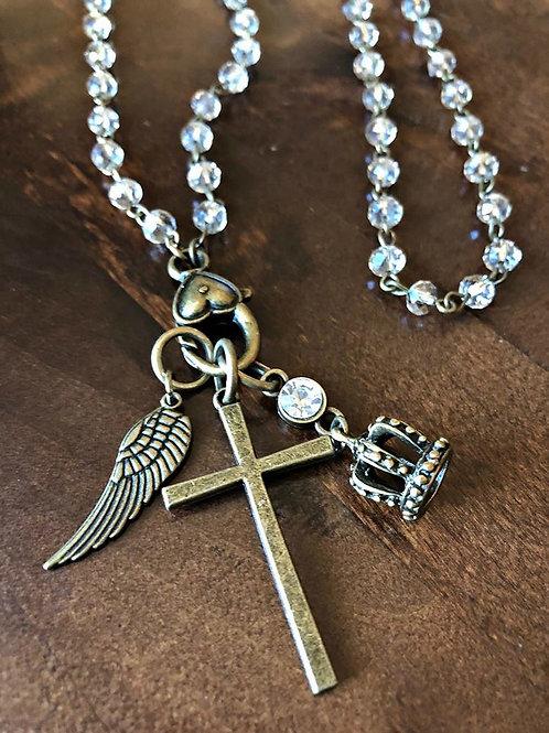 """Majesty"" Charm Necklace"