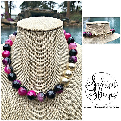 """Agate Gemstone"" Necklace"