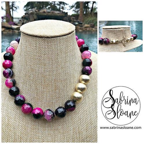 """Agate Gemstone"" Necklace"
