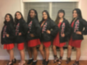 Congratulations to this wonderful Alpha Gamma Class on becoming members of our beautiful organizatio