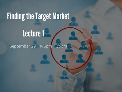EUMAS Lecture 1: Finding the Target Market
