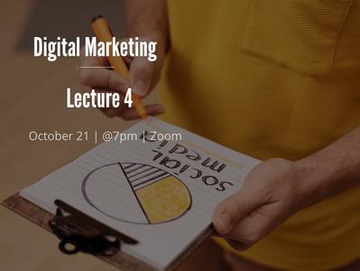 EUMAS Lecture 4: Digital Marketing