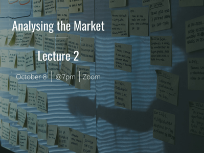EUMAS Lecture 2: Analysing the Market