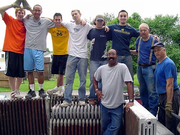 The radiator posse