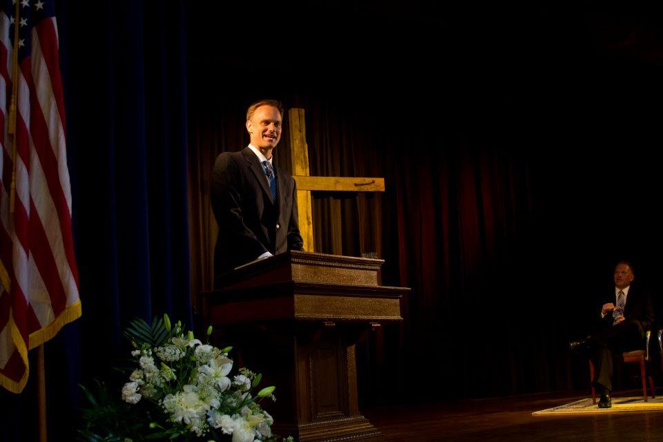 Adam podium